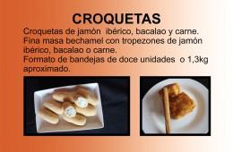 Croquetas, Carne