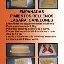 Empanadas de hojaldre rellenas de atún y marisco