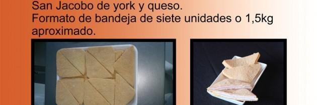 Sanjacobos de york y queso